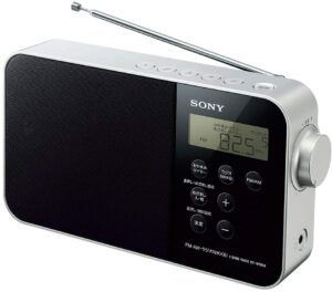 ソニー PLLシンセサイザーポータブルラジオ ICF-M780N - FM:AM:ワイドFM:ラジオNIKKEI対応 乾電池対応 ブラック ICF-M780N B